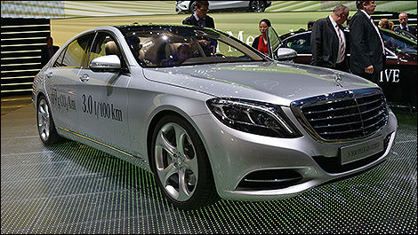 Mercedes-Benz S500 hybride enfichable 2015