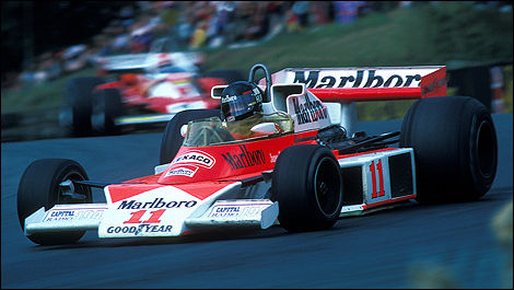 Niki Lauda James Hunt 1976 F1