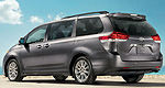 Toyota Canada announces 2014 Sienna pricing