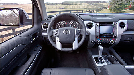 2014 Toyota Tundra interior view