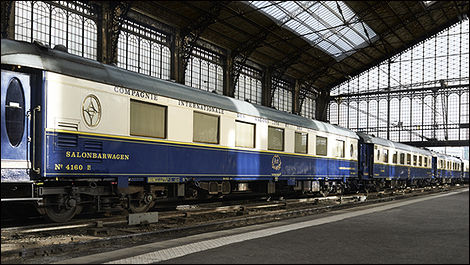 Le train Orient-Express