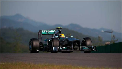 Lewis Hamilton, Mercedes W04, Korean Grand Prix