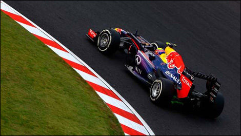 Mark Webber, Red Bull RB9, Suzuka, F1