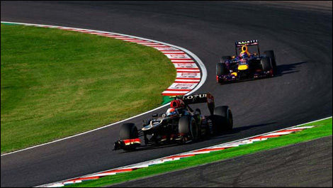Romain Grosjean, Mark Webber, Suzuka, F1