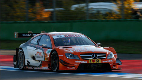 Robert Wickens, Mercedes C-Coupe