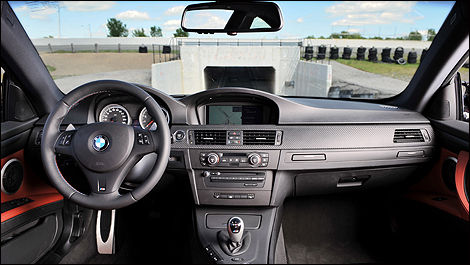 2009 BMW M3 Coupe cabin