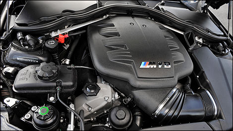 2009 BMW M3 Coupe engine