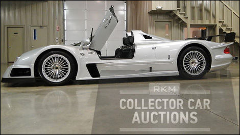 Mercedes-Benz CLK GTR Roadster 2002