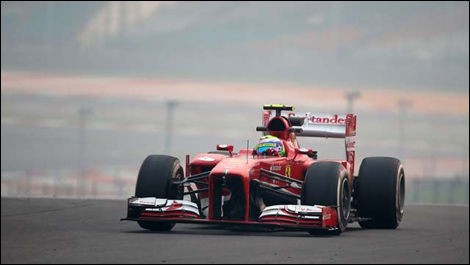 F1, Buddh International Circuit, Felipe Massa, Ferrari F138