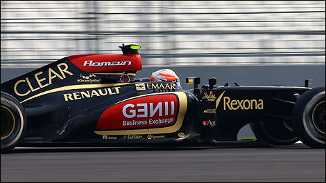 F1 Lotus E21 Romain Grosjean