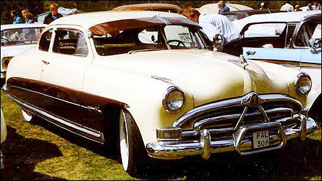 Hudson Hornet Club Coupe 1951.