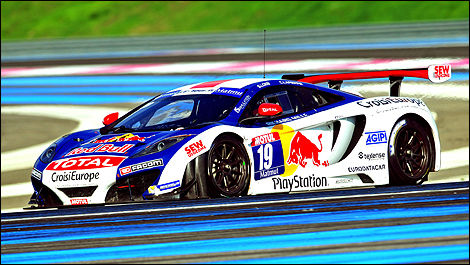 GT McLaren MP4-12C Sébastien Loeb Racing