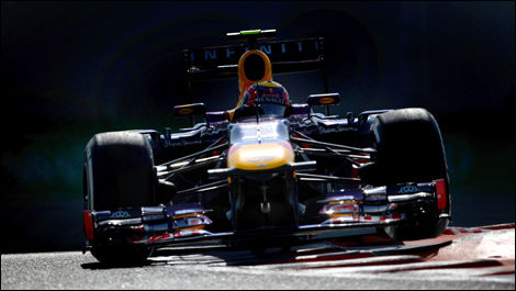 Mark Webber, Red Bull RB9, Yas Marina Circuit