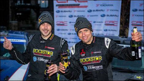 Craig Parry, Antoine L'Estage, Canadian Rally Championship, Rocky Moutain Rally