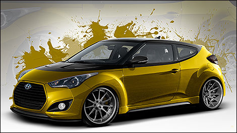 Hyundai Veloster Turbo par Fox Marketing