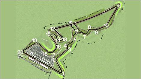 Circuit of the Americas F1 USA