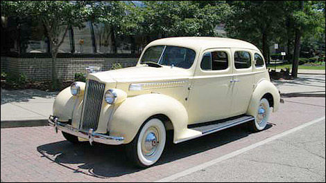 Packard 1939 air conditioning