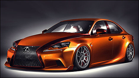 Lexus IS 250 F 2014 par Paul Tolson