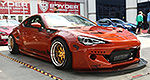 2013 Scion FR-S and Subaru BRZ at 2013 SEMA Show