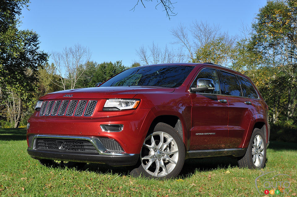 2014 jeep grand cherokee summit review editor 39 s review car news auto123. Black Bedroom Furniture Sets. Home Design Ideas