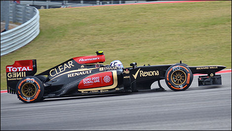USA F1 2013 Romain Grosjean, Lotus