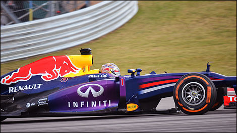 USA F1 2013 Sebastian Vettel, Red Bull Racing