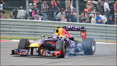 USA F1 2013 Mark Webber, Red Bull Racing