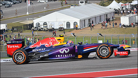 2013 US F1 Grand Prix Mark Webber, Red Bull Racing