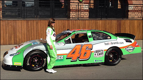 Maryeve Dufault, Team Stange ARCA 2014
