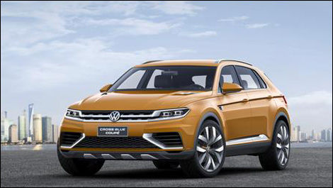Volkswagen Crossblue Coupe