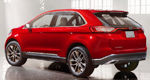 Los Angeles 2013: Ford Edge Concept hints at CUV future