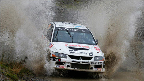 Amy Williams, Tony Jardine, Wales Rally GB