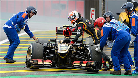 F1 Lotus Romain Grosjean