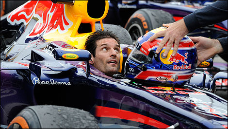 F1 Red Bull Mark Webber