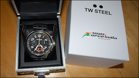 F1 Sahara Force India TW STEEL