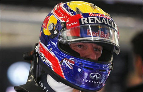 F1 Mark Webber Red Bull