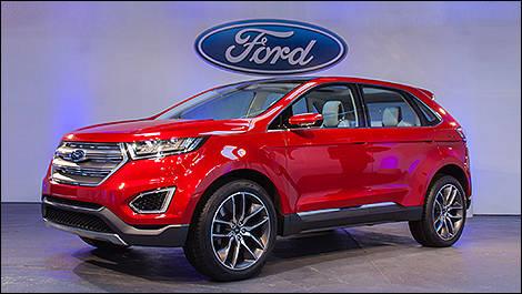 2013 La Auto Show Ford Edge Concept Car News Auto123