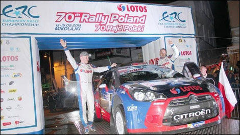 Robert Kubica, Rally Poland