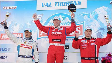 Trophée Andros Jean-Philippe Dayraut Franck Lagorce Olivier Panis