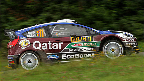 WRC M-Sport Ford Thierry Neuville