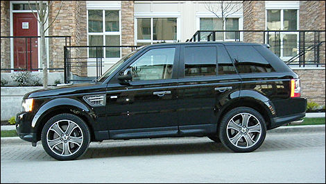 2010 Land Rover Range Rover Sport side view