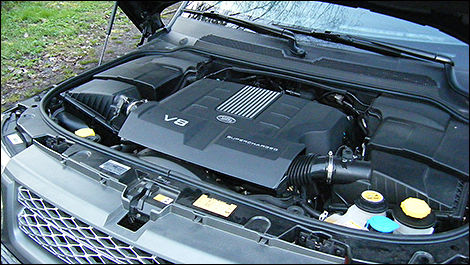2010 Land Rover Range Rover Sport engine