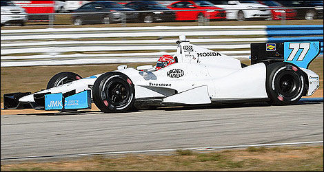 IndyCar Simon Pagenaud Schmidt Peterson Motorsport