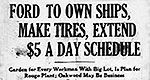 Ford's $5-a-day revolution is 100 years old