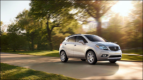 2014 Buick Encore 3/4 view