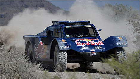 Dakar Carlos Sainz Red Bull Buggy