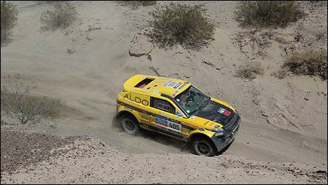 Dakar David Bensadoun ALDO Racing