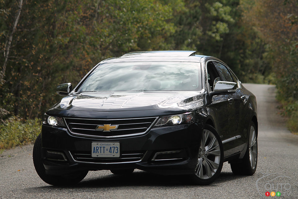 Review Highlights. 2014 Chevrolet Impala 1LTZ