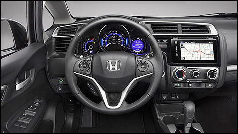 Honda Fit 2015 interior