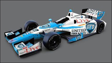 IndyCar Andretti Autosport James Hinchcliffe